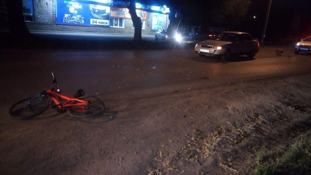 Молодой омич сбил мальчика-велосипедиста