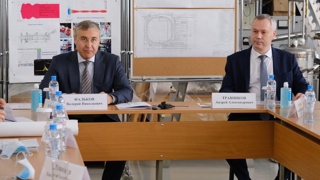 Губернатор Новосибирской области обсудил с министром науки РФ развитие проектов в Академгородке 2.0