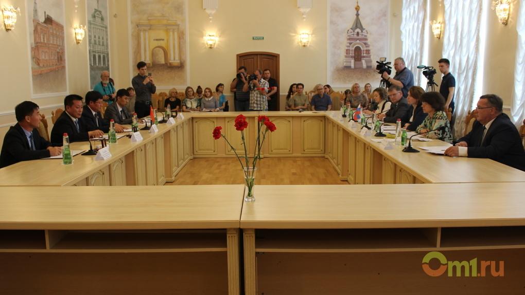 В Омске хотят открыть Китайский торговый дом
