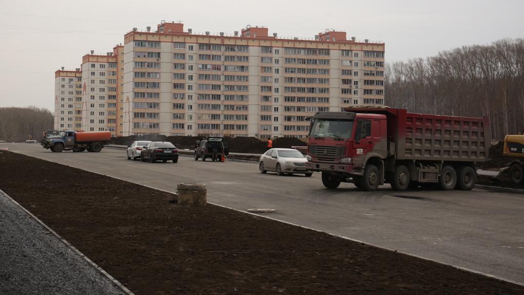 Новую дорогу по улице Петухова в Новосибирске планируют запустить в 2021 году