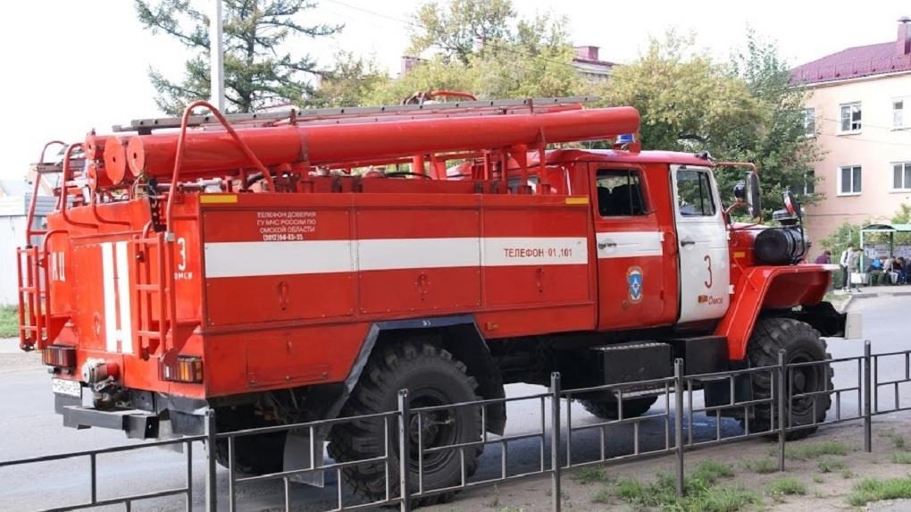 В Омской области при пожаре погибла 80-летняя пенсионерка