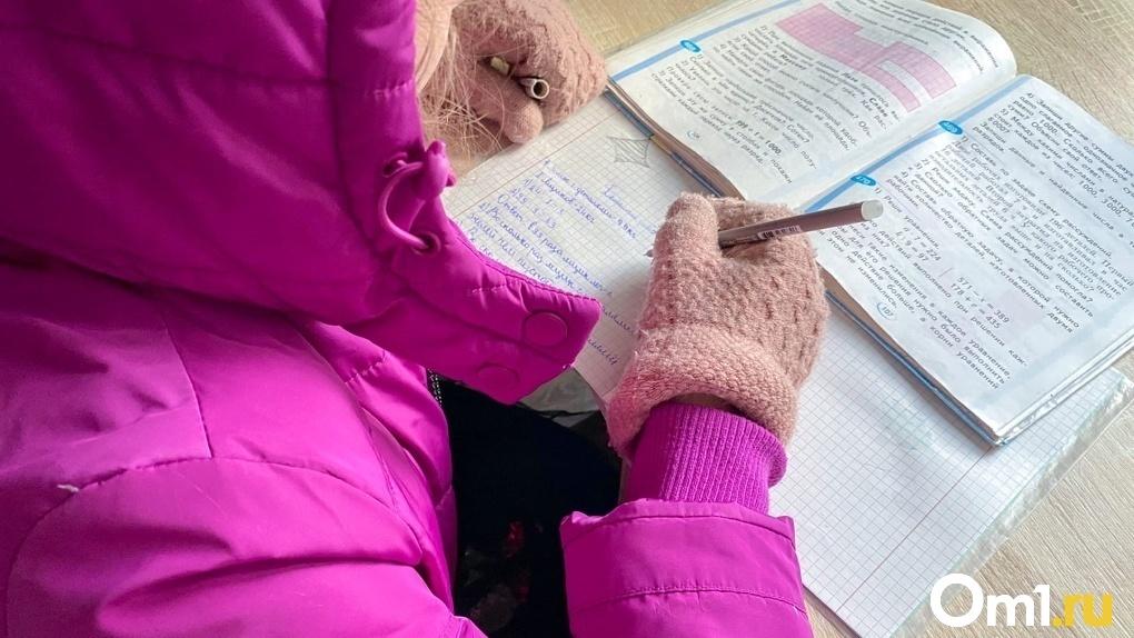 «Замерзла как собака». Родители омских школьников продолжают массово жаловаться на холод в школах