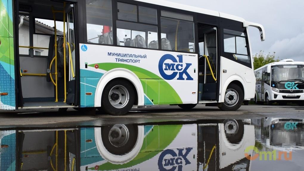 Кондиционеры и низкий пол: изучаем новые омские автобусы