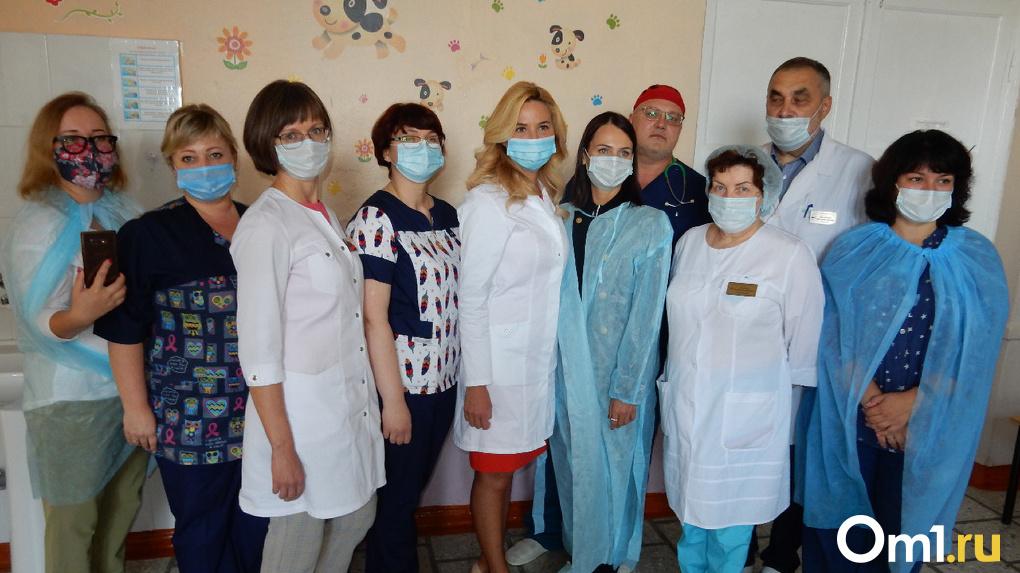 В Омске готовятся к внедрению системы помощи беременным женщинам в условиях пандемии