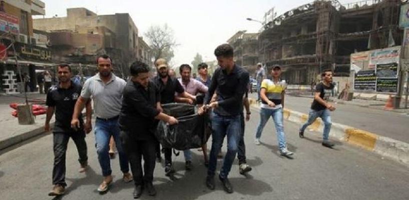 В Багдаде террорист-смертник взорвал бомбу, более 30 человек погибли