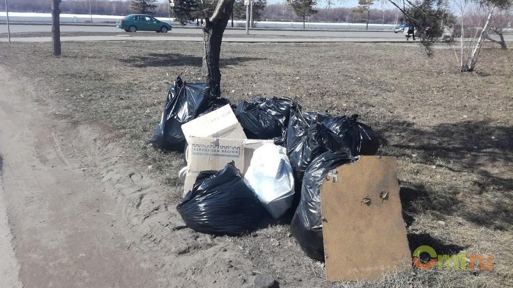 В Омской области с 1 апреля заработает «мусорная реформа»
