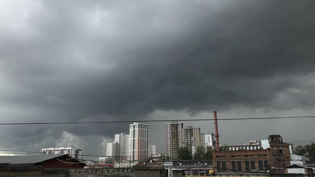 Экстренное предупреждение: шквалистый ветер обрушится на Новосибирск