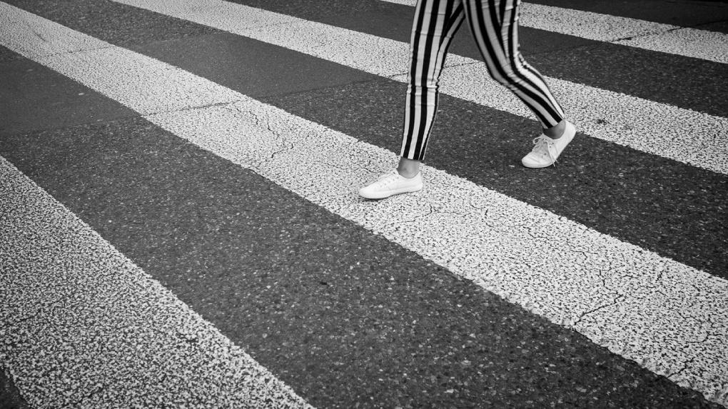 Омич на иномарке сбил пешехода на «зебре»