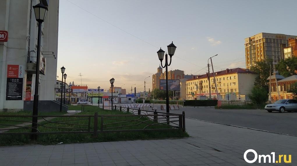 На окраине Омска обнаружили загадочный участок, населённый киосками
