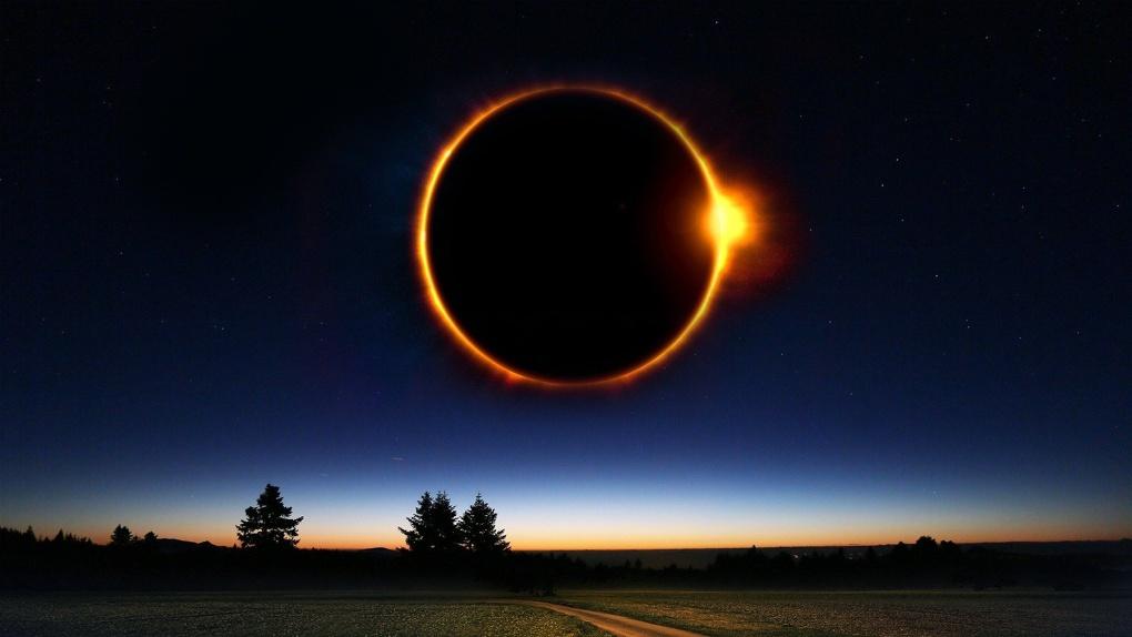 В Омске можно будет наблюдать кусочек редкого и «опасного» кольцеобразного затмения