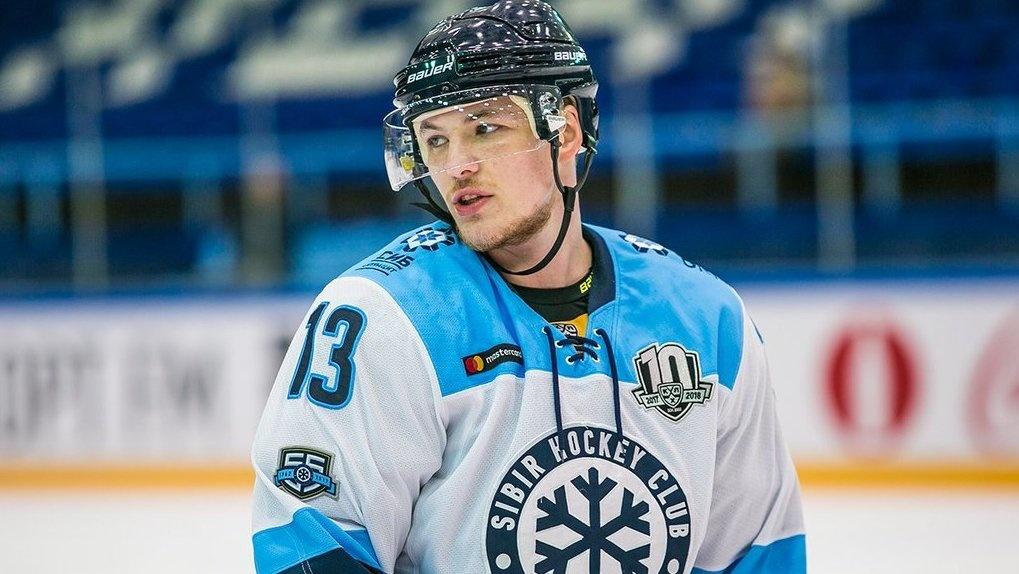 Хоккейный клуб «Сибирь» продлил контракт с игроком Николаем Демидовым на два сезона