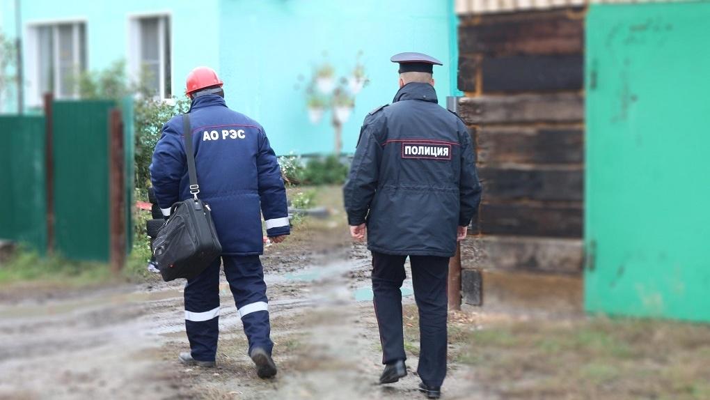 Новосибирские энергетики совместно с полицией проводят рейды по пресечению энерговоровства