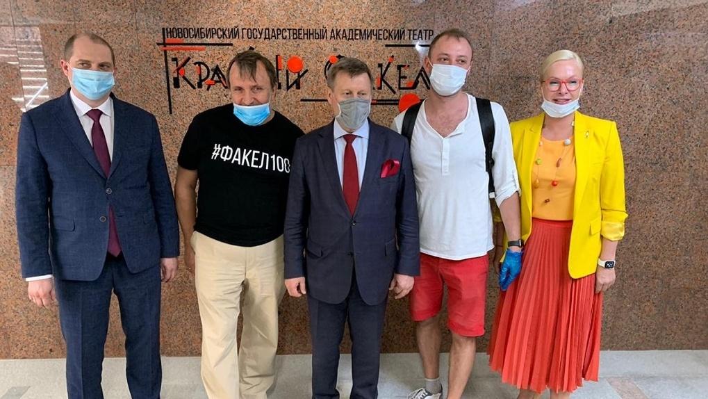«Театральный» подземный пешеходный переход открыли в Новосибирске