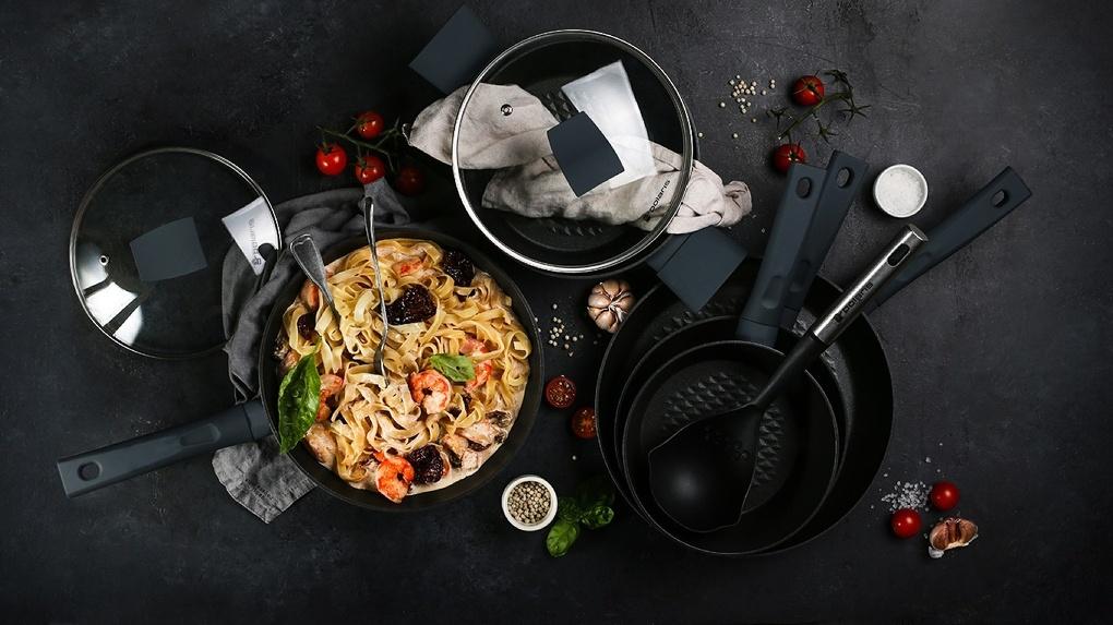Новая коллекция посуды Kontur от Polaris для создания кулинарных шедевров прямо на вашей кухне