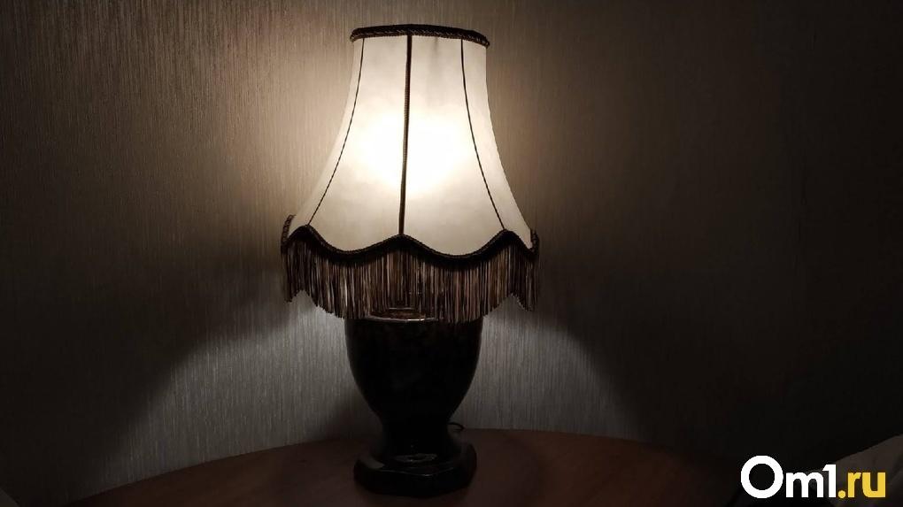 Омичам рассказали о сегодняшнем отключении электричества в частном секторе