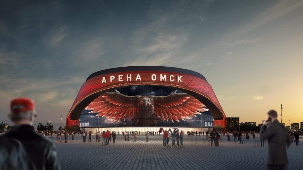 «Газпром» оплатит строительство арены в Омске
