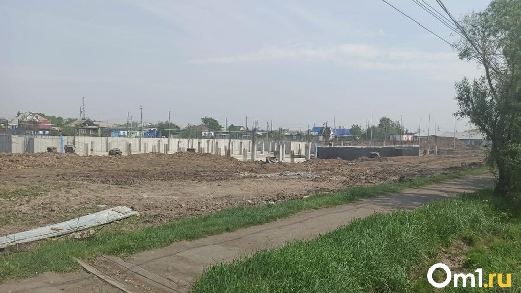 Останутся ли дети в Исилькуле без образования? В Омской области не могут достроить школу