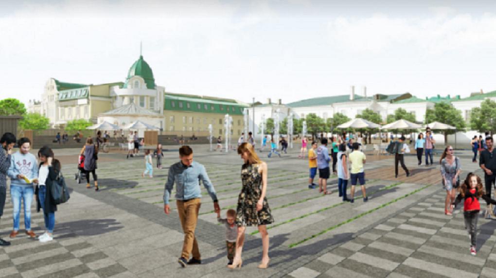 Омск 2022: на набережной Оми собираются построить водные сады и мосты для велосипедистов