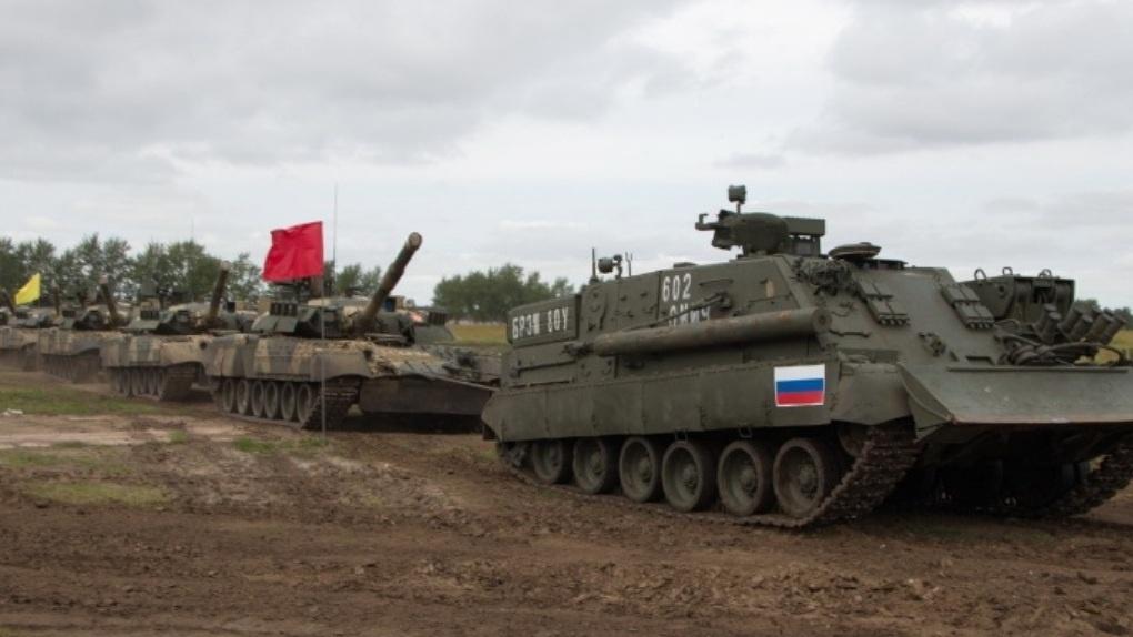 В Омске на «Рембате-2018» установили рекорд России по буксировке танков
