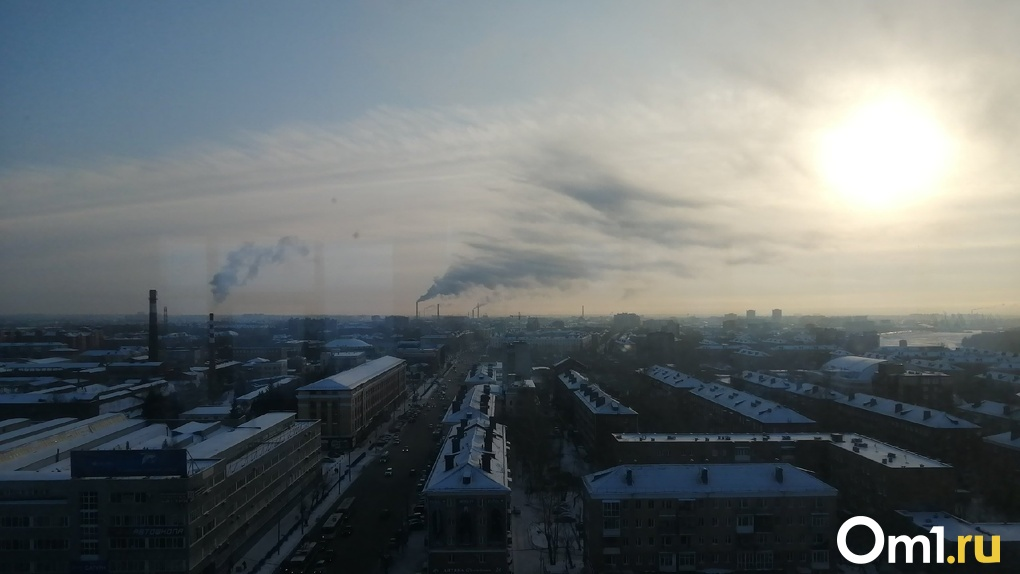 В омский воздух снова неизвестным образом попали бензол и сероводород