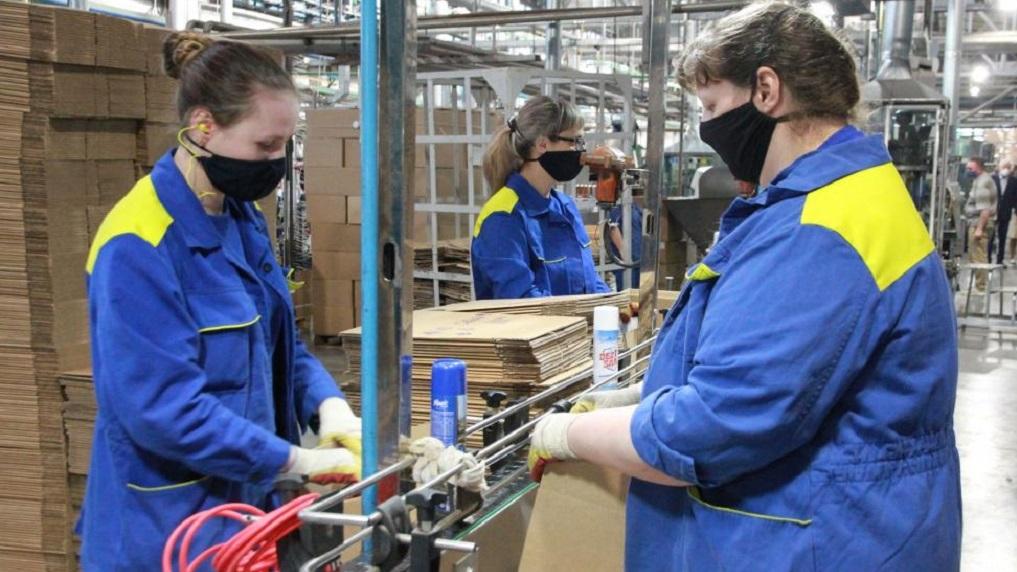 В Новосибирске запустили производство дезинфицирующего аэрозоля