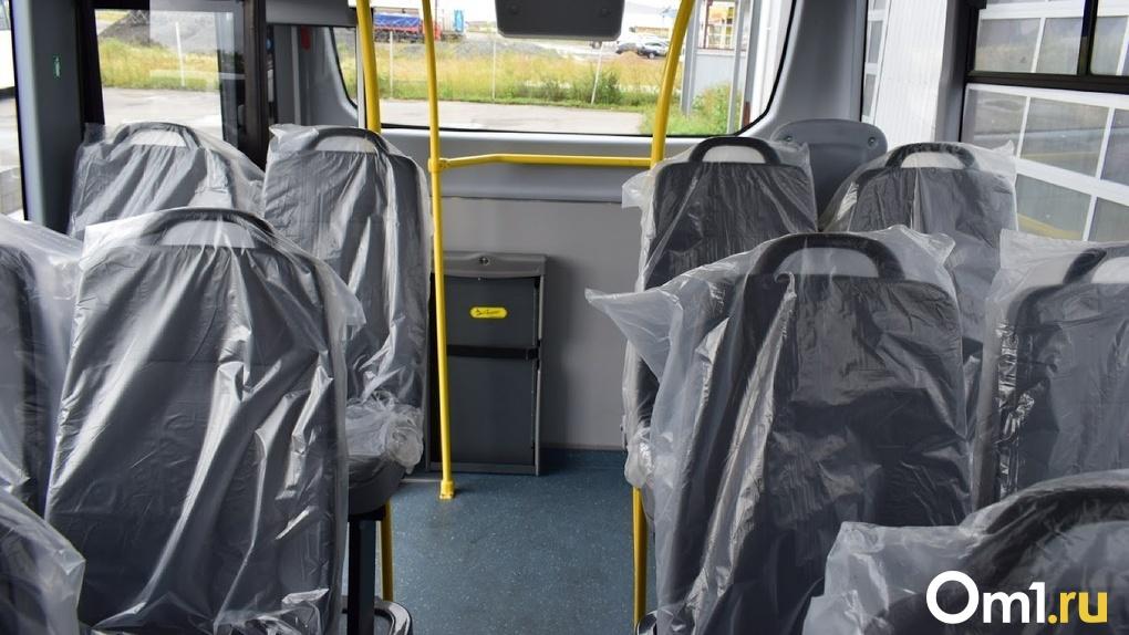 В омских автобусах могут убрать часть сидений ради удобства пассажиров
