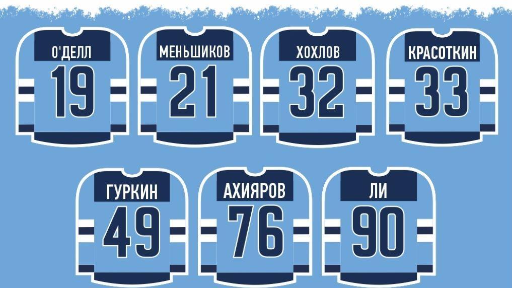 Как можно узнать новичков хоккейной команды «Сибирь»?