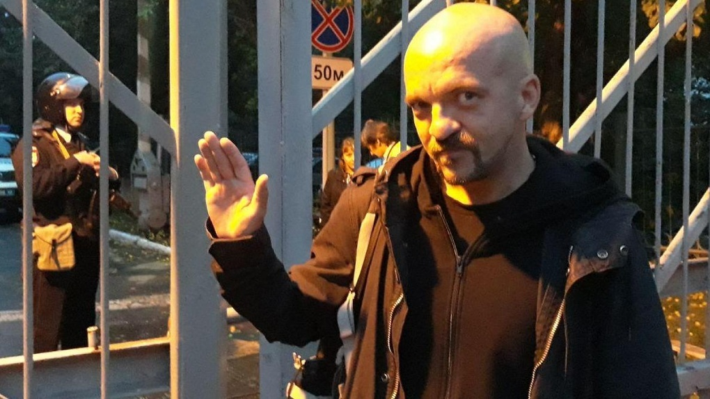 Генерал Бородин извинился перед журналистами, которых полицейские задержали на митинге