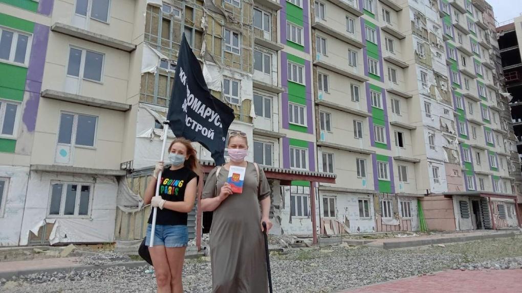 Новосибирские власти назвали объём дефицита средств на завершение первого долгостроя в ЖК «Новомарусино»