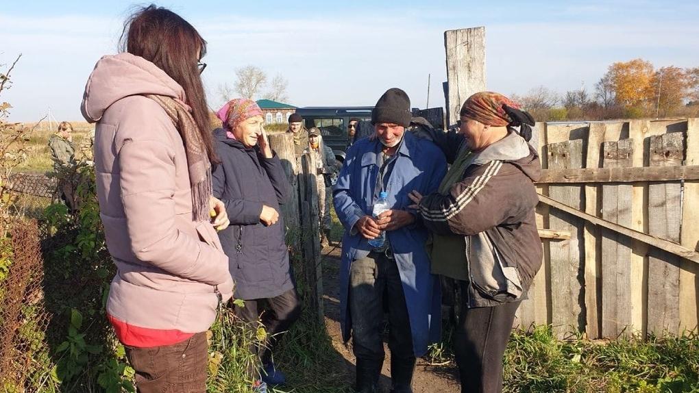 Дедушка из Омской области несколько дней провел в лесу без воды и еды