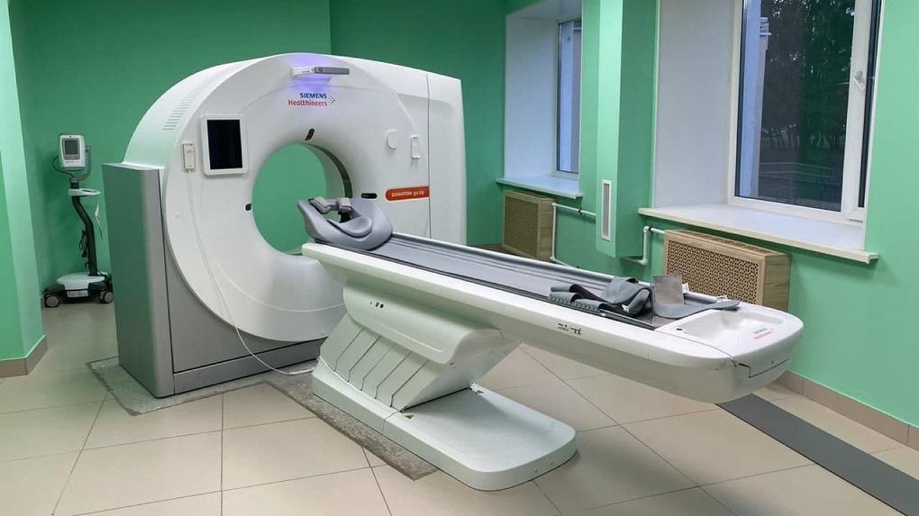 В Омской ГКБ №11 установили новый компьютерный томограф
