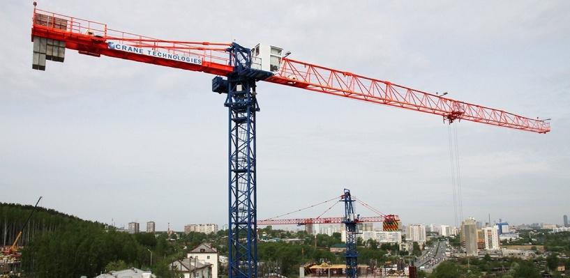 «Активность падала последние три года»: УПН измерила строительный рынок Екатеринбурга в башенных кранах