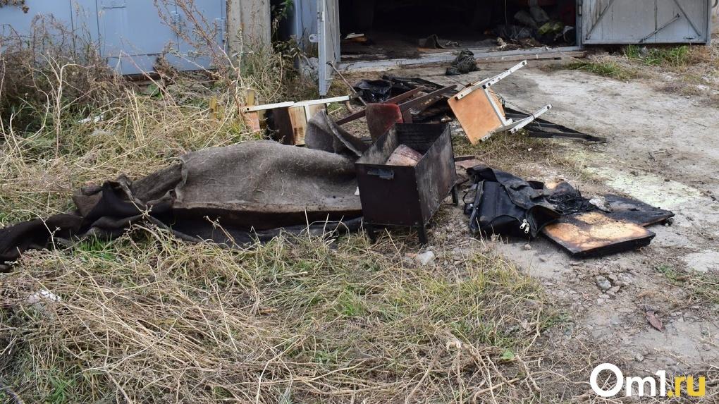 Детей чудом удалось спасти. Ещё один страшный пожар уничтожил всю деревню в Омской области