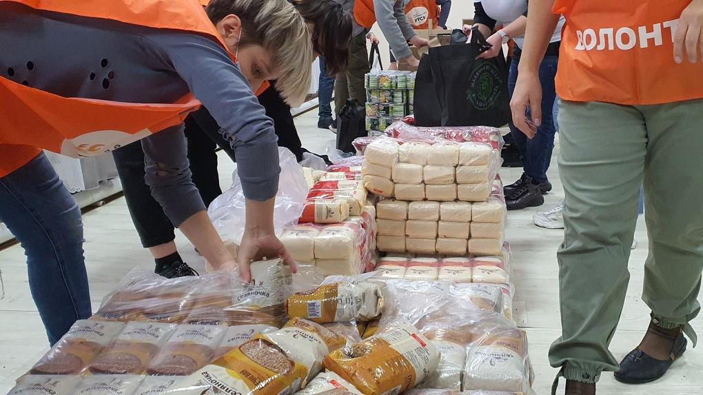 К Новому году 10 тысяч омских семей получат продуктовые наборы