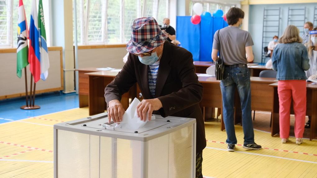 Партия «Единая Россия» лидирует на выборах в парламент Новосибирской области