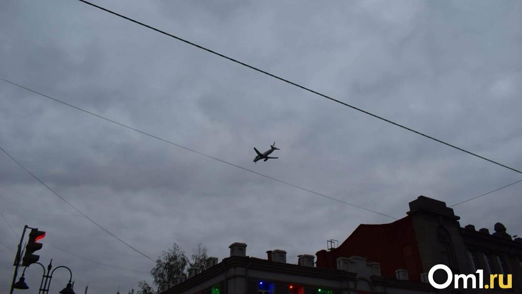Из охваченной коронавирусом Москвы в Омск прилетел самолет