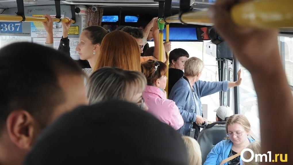 В Омске пассажирский автобус водил мужчина без прав