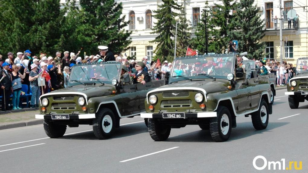 На парад в Омске в честь 75-летия Победы не пустят зрителей