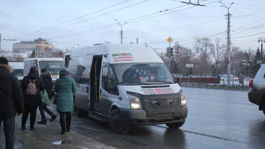 Омские студенты выступили против маршруток