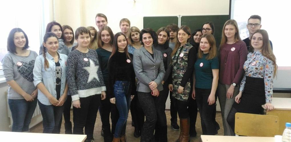 Участница «Народного героя» рассказала студентам ОмГУ о социальной журналистике