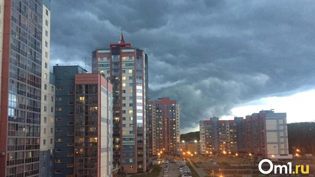 Новосибирск зальют дожди на выходных и на следующей неделе