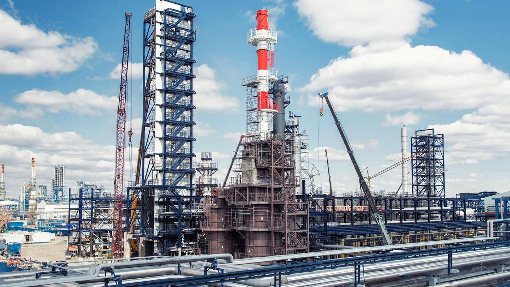 Омский НПЗ продолжает масштабную модернизацию производства по самым современным технологиям