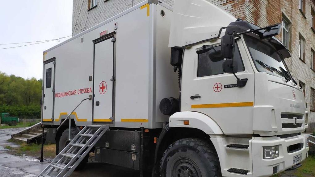 В сельские районы Омской области отправили мобильный маммограф
