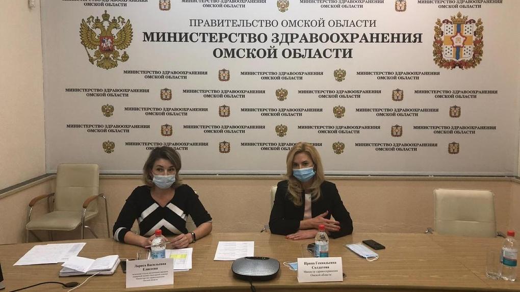 Поликлиники в Омске работают с повышенной нагрузкой