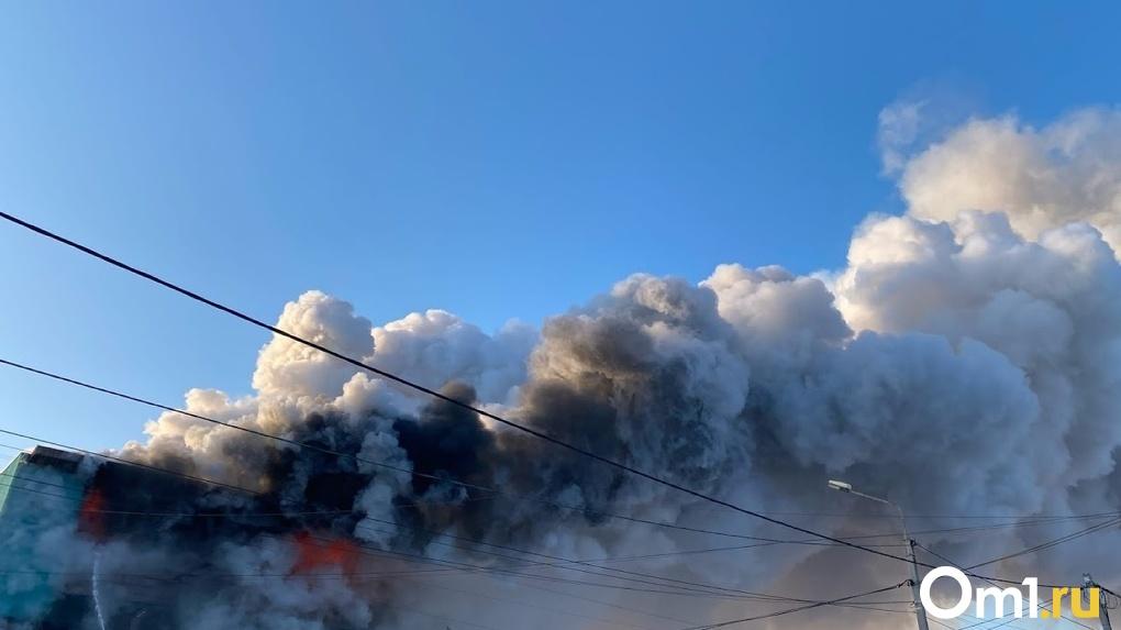 В Омской области сгорел жилой дом