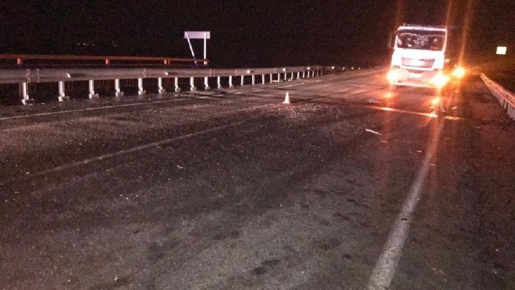 Водитель погиб в страшной аварии в Новосибирской области