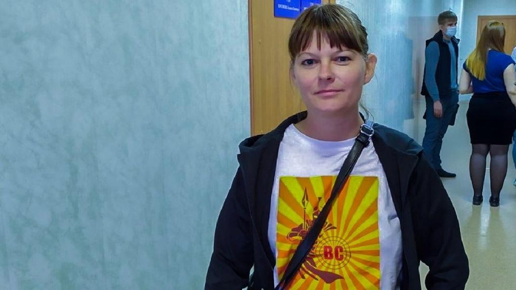 В Новосибирске оштрафовали участницу пикетов в поддержку Фургала и Навального