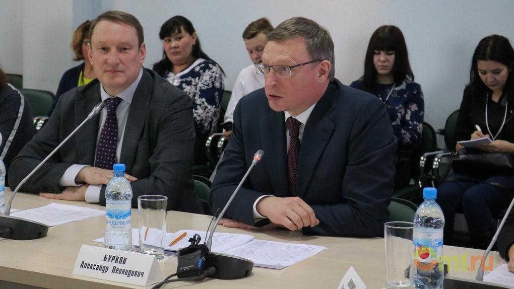 Бурков посетил омский «Доброфорум-2018»