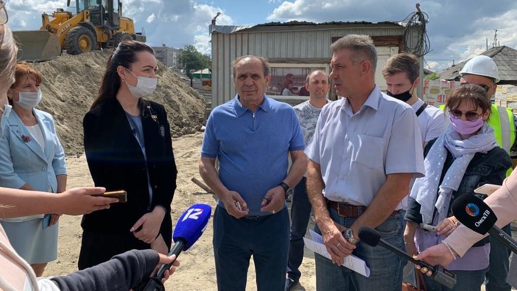 Мэр Омска Оксана Фадина поставила на особый контроль строительство детского сада на 1-й Станционной