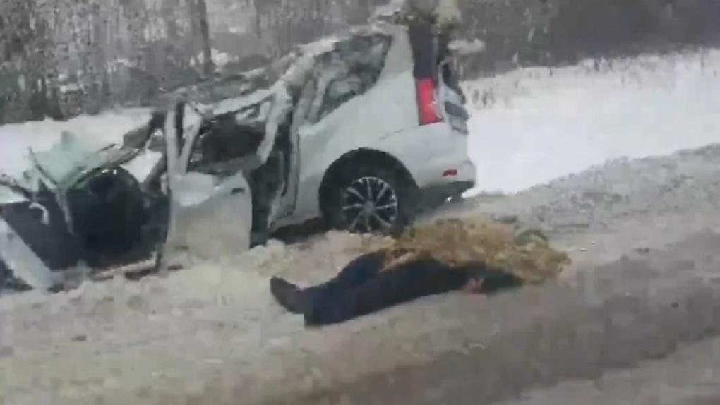 Пожилой водитель погиб в страшном ДТП с грузовиком на трассе в Новосибирской области